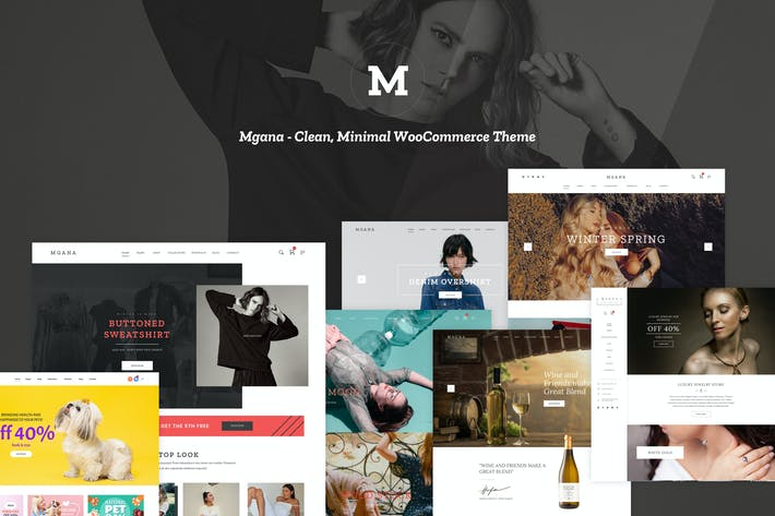 Thumbnail for Mgana - Clean, Minimal WooCommerce Theme