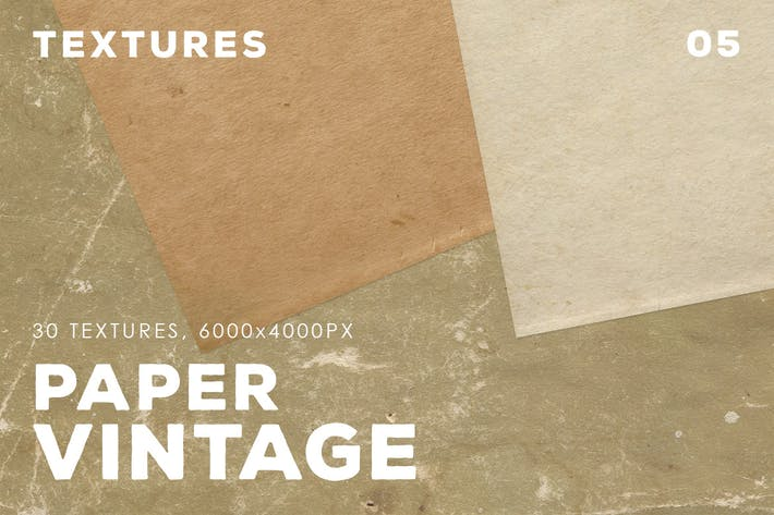 Thumbnail for 30 Vintage Paper Textures | 05