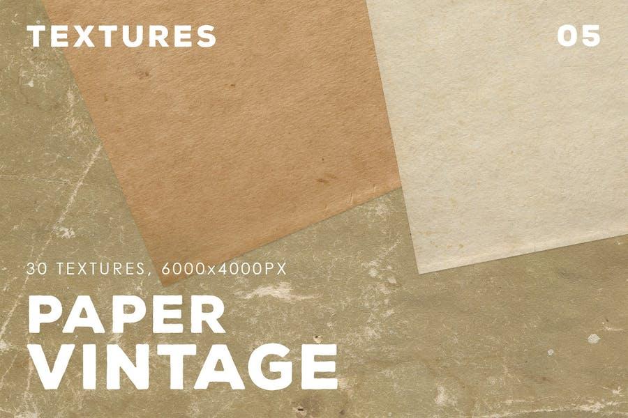 30 Vintage Paper Textures   05