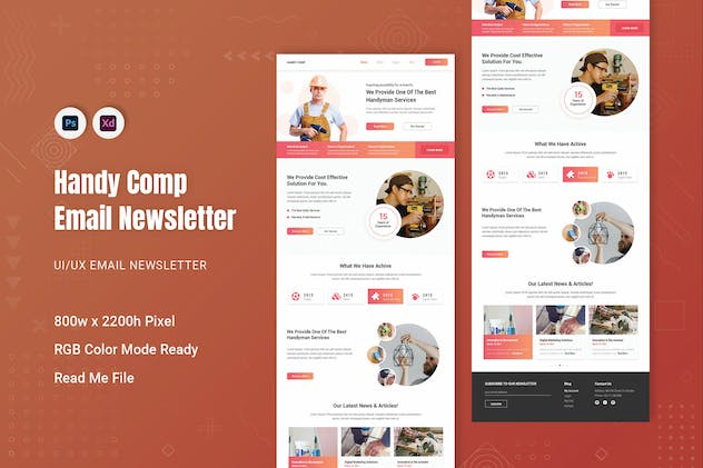 Handy Comp Email Newsletter