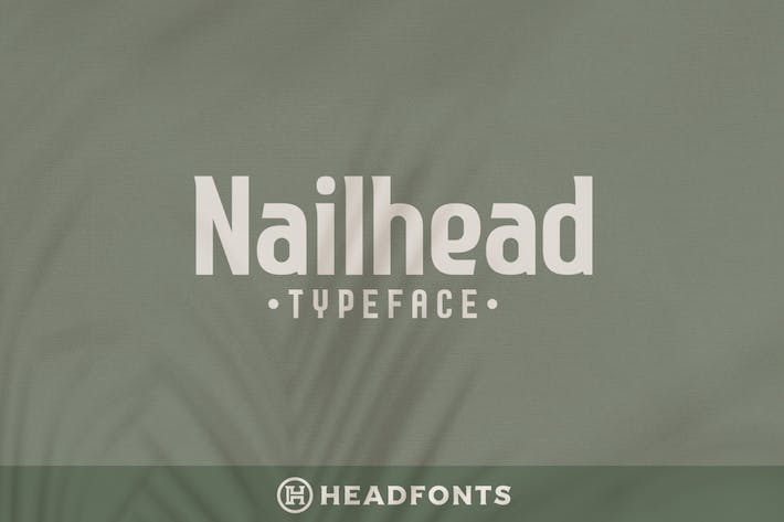 Thumbnail for Nailhead Modern Wedding Typeface
