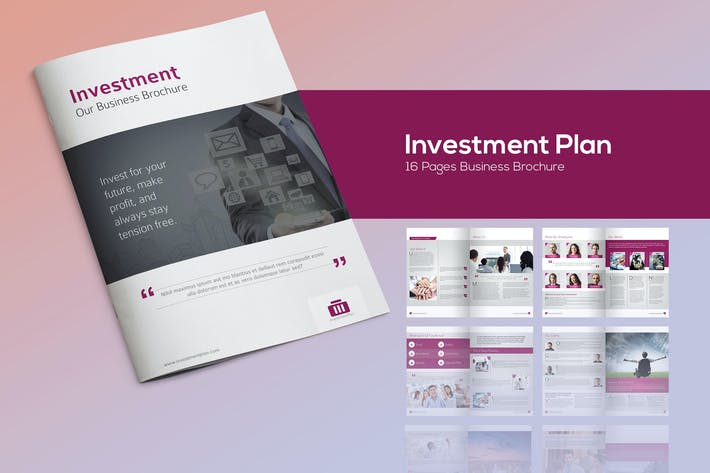 Thumbnail for Investment Plan - Business Brochure