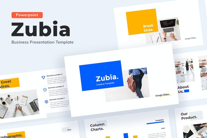 Thumbnail for Zubia - Powerpoint template