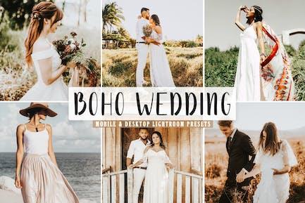Boho Wedding Mobile & Desktop Lightroom Presets
