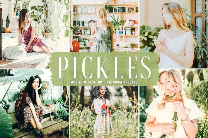 Pickles Мобильные и настольные Пресеты Lightroom