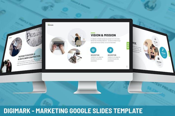 Thumbnail for Digimark - Marketing Google Slides Template