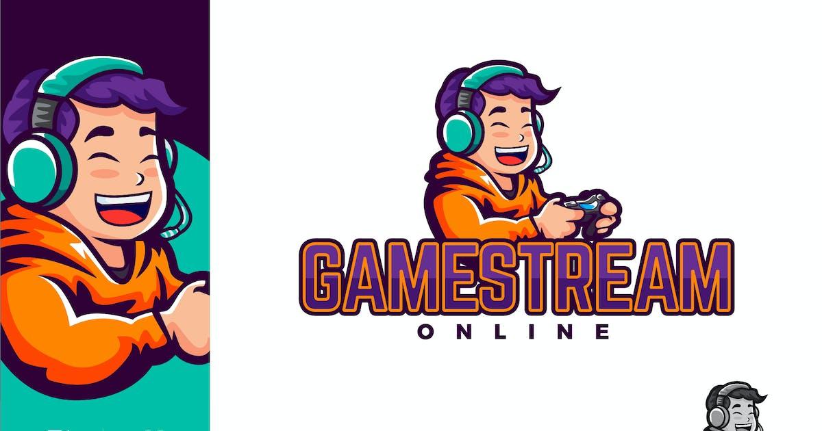Download Gamestream Online Logo Illustration Vector by naulicrea