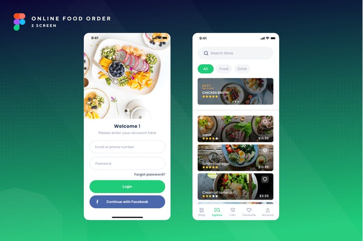 Thumbnail for Foodcy-Online Food Order Mobile App