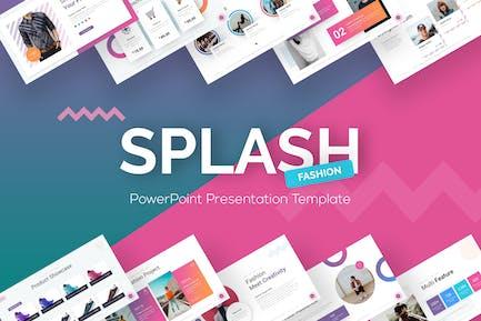 Splash - Mode-Präsentation