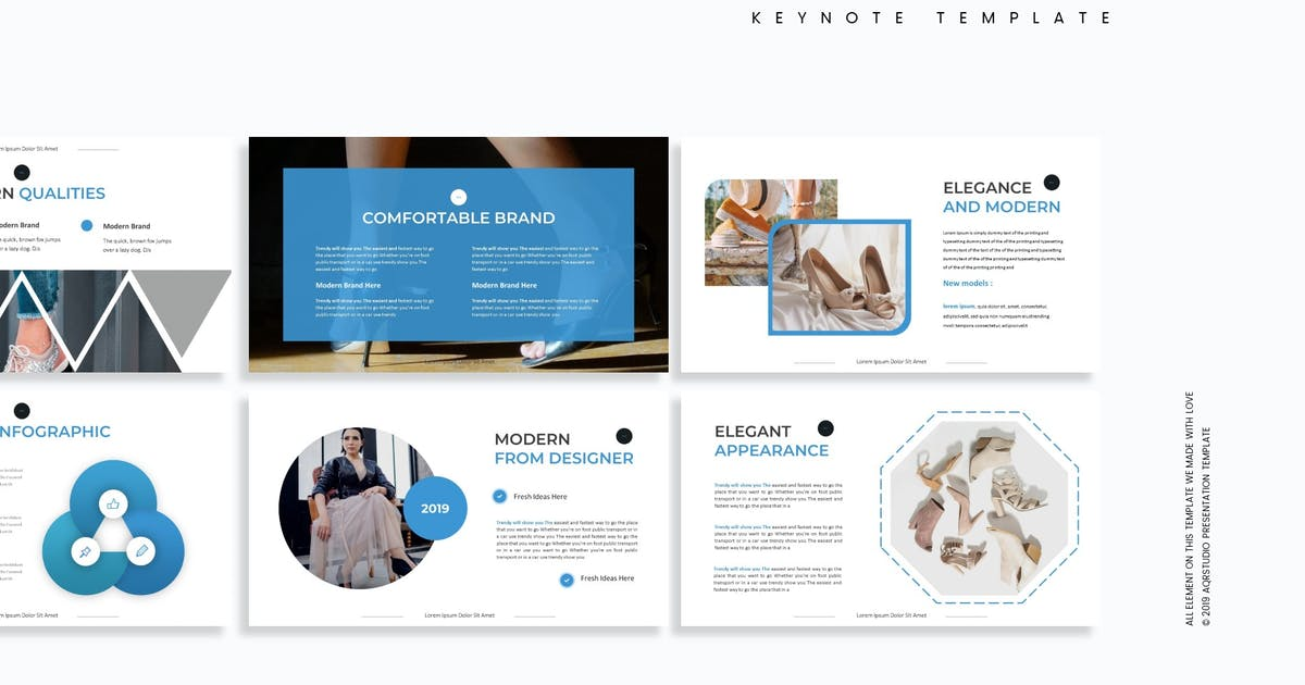 Download The Shooe - Keynote Template by aqrstudio