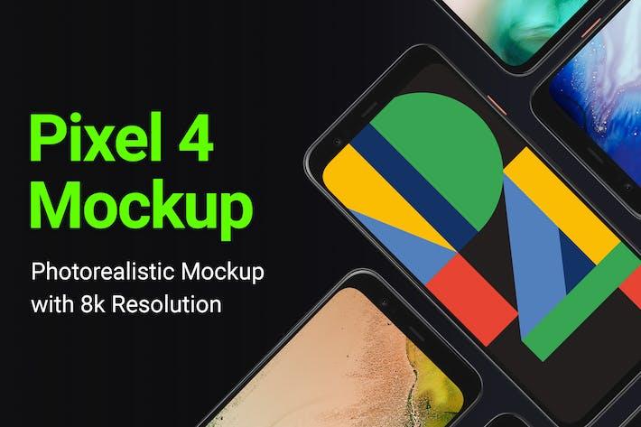 Thumbnail for Google Pixel 4 Mockup
