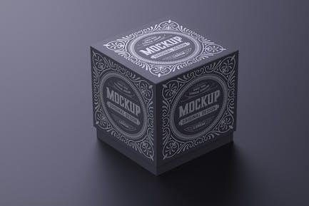 Luxury Cardboard Box Mockup