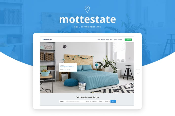 Thumbnail for Mottestate - Real Estate Template