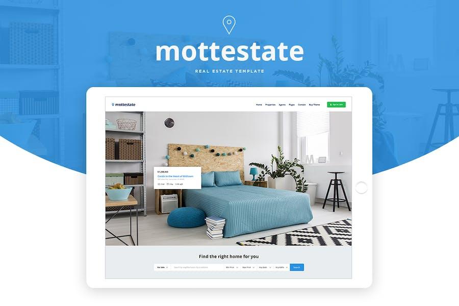 Mottestate - Real Estate Template
