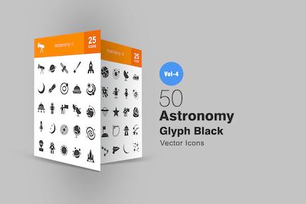 50 Astronomie-SyIcons
