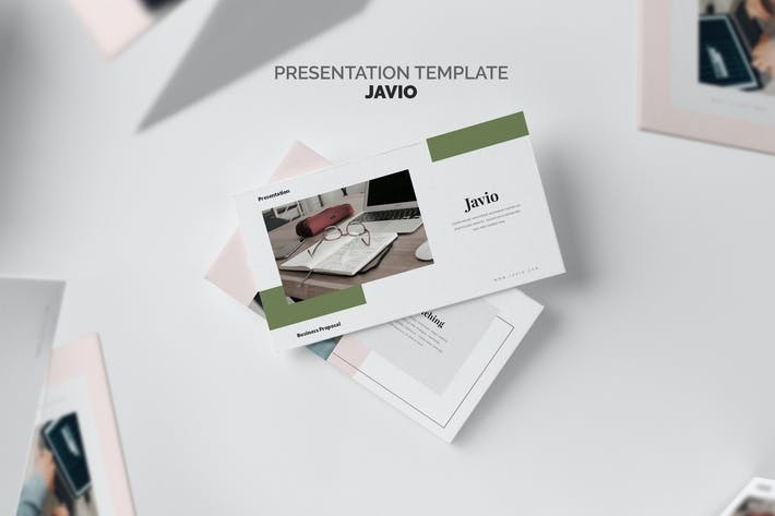 Thumbnail for Javio : Business Proposal Powerpoint Template
