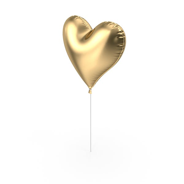 Foil Balloon Heart