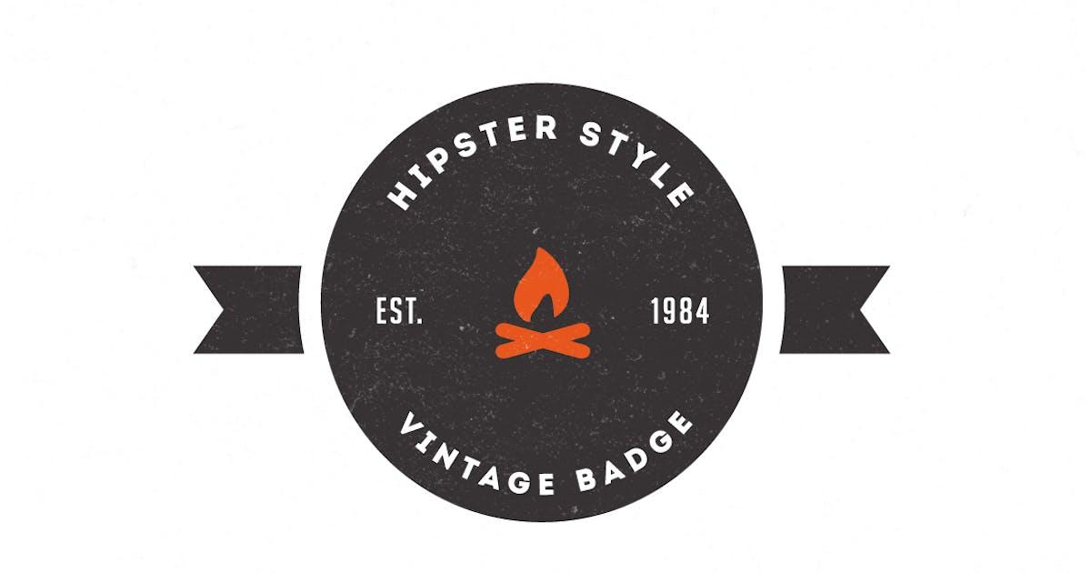 Download Trendy Vintage Logos & Badges by designdistrictmx