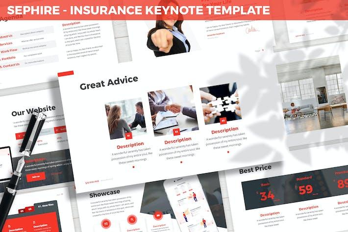 Thumbnail for Sephire - Insurance Keynote Template