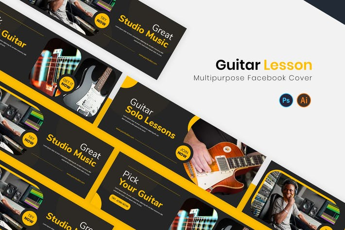 Thumbnail for Guitar Lesson Facebook Cover