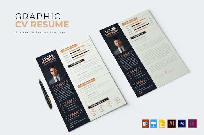 Thumbnail for Graphic Layouter | CV et CV