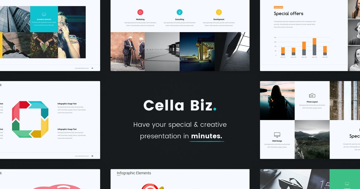 Download Cella PitchDeck Template (PPTX) by UDEA