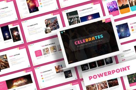 Celebrates - Powerpoint Template