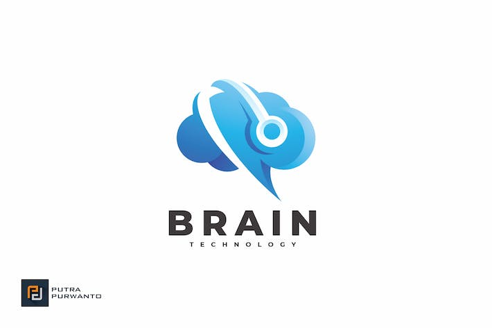 Brain Technology - Logo Template