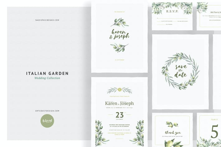 Italian Garden Wedding Collection