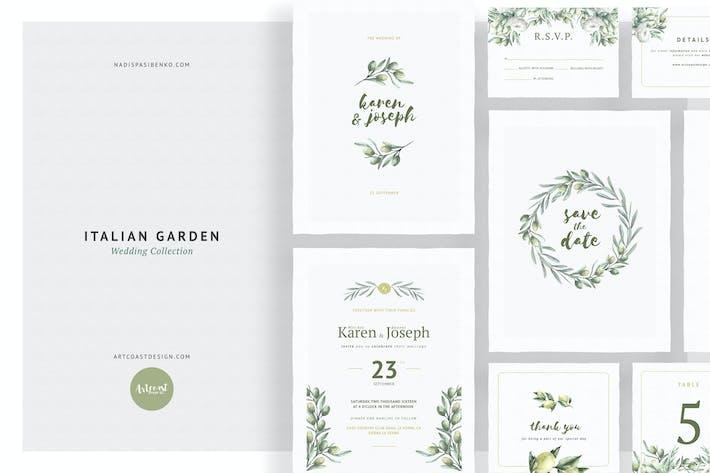 31 Popular Landscape Vector Layered Wedding Invitations Print