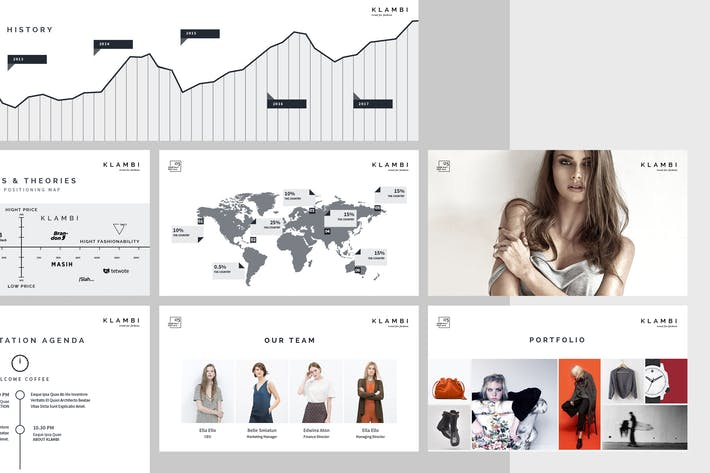 Thumbnail for Fashion PowerPoint Template