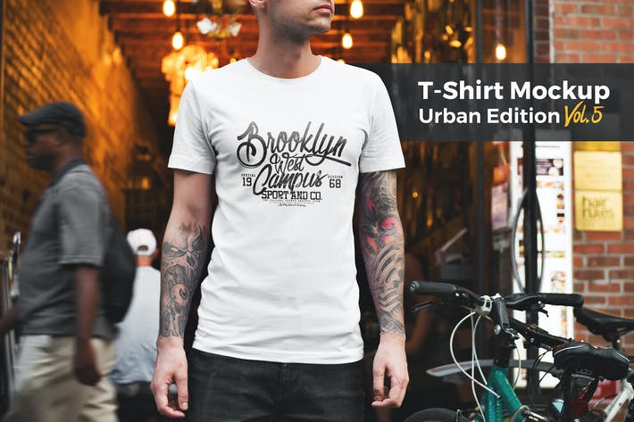 Thumbnail for T-Shirt Mockup Urban Edition Vol. 5