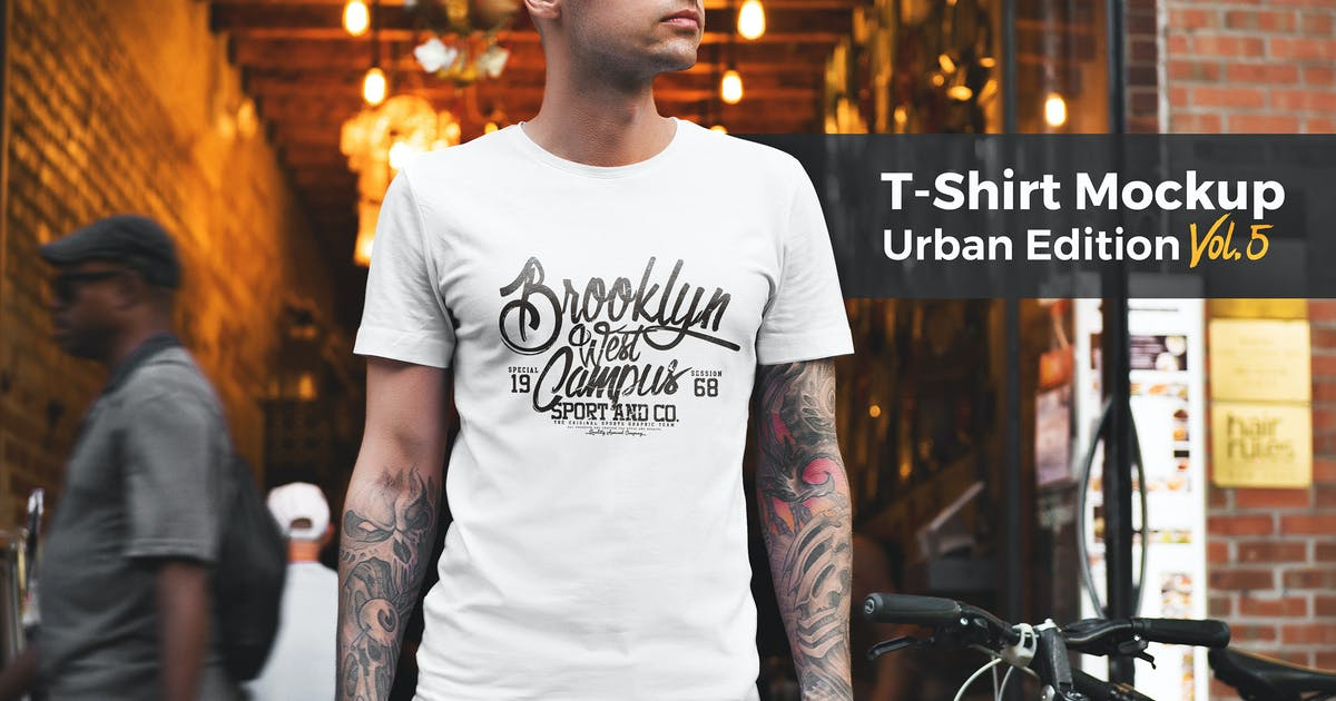 Download T-Shirt Mockup Urban Edition Vol. 5 by Genetic96