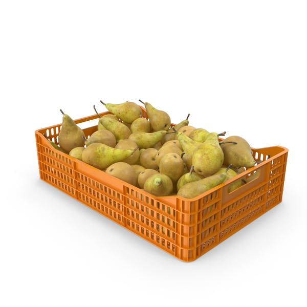 Conference Pear Crate