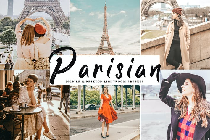 Thumbnail for Parisian Mobile & Desktop Lightroom Presets