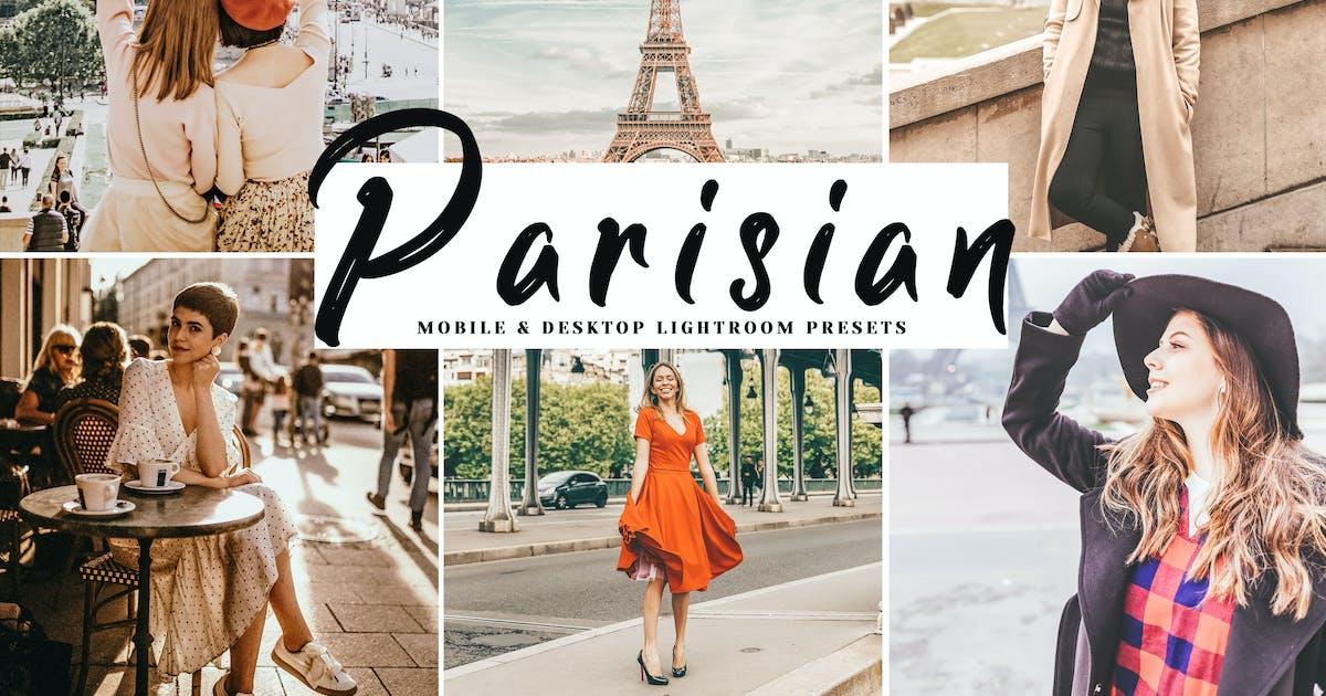 Download Parisian Mobile & Desktop Lightroom Presets by creativetacos