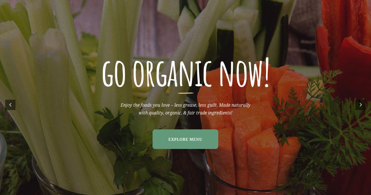 Download Vincente's |Organic Food Restaurant & Eco Cafe WP by AncoraThemes