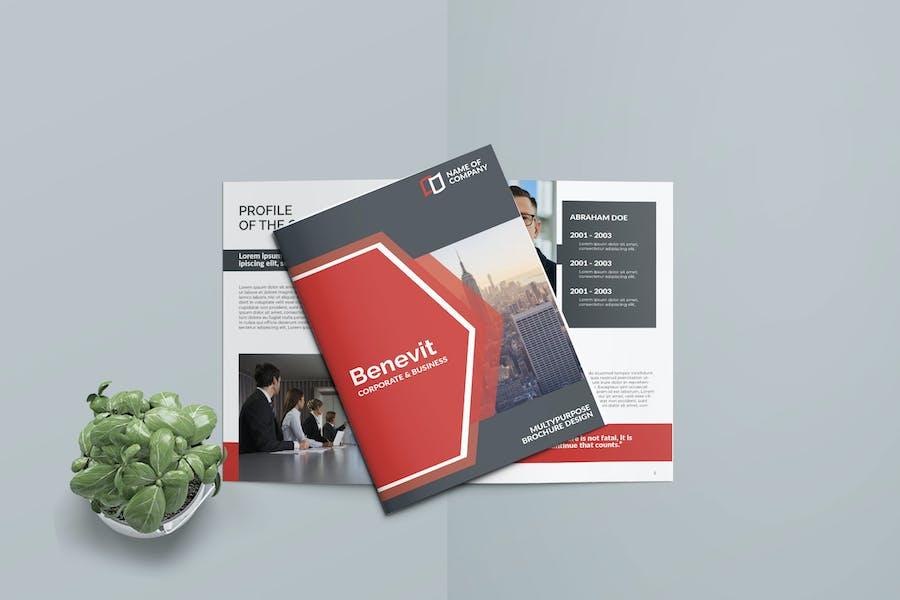 BENEVIT - Business Bifold Brochure Template