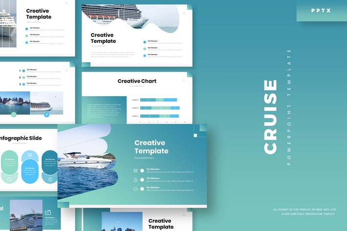 Thumbnail for Cruise - Powerpoint Template