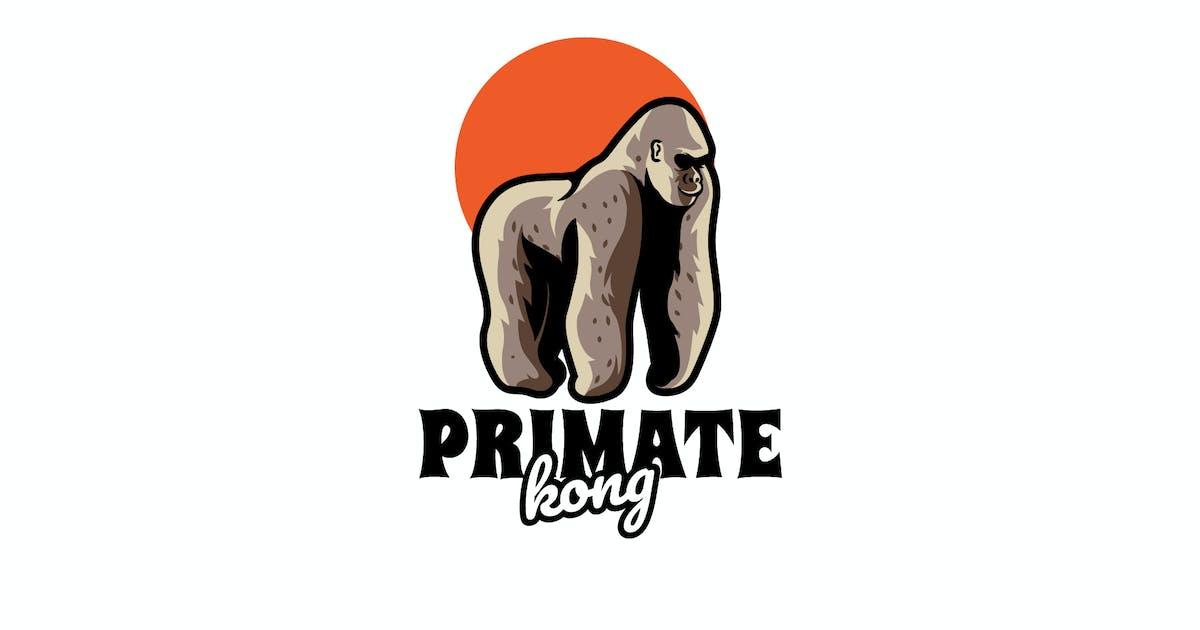 Download Primate Kong - Mascot & Esport Logo by aqrstudio