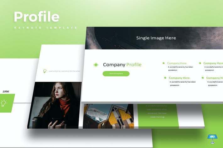 Profile - Keynote Template
