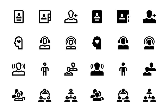 Thumbnail for 36 User Icons