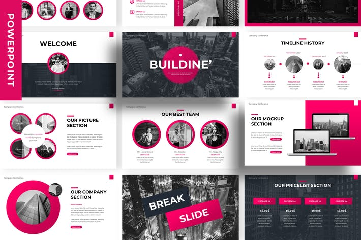 Thumbnail for Buildine - Business Powerpoint Template