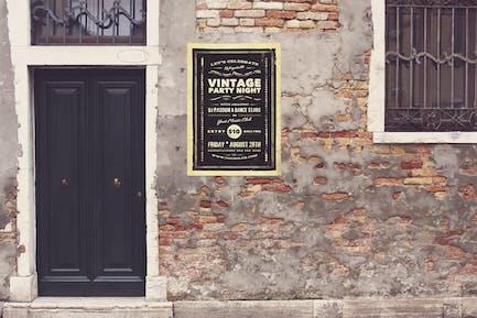 Venetian Grunge Front Door