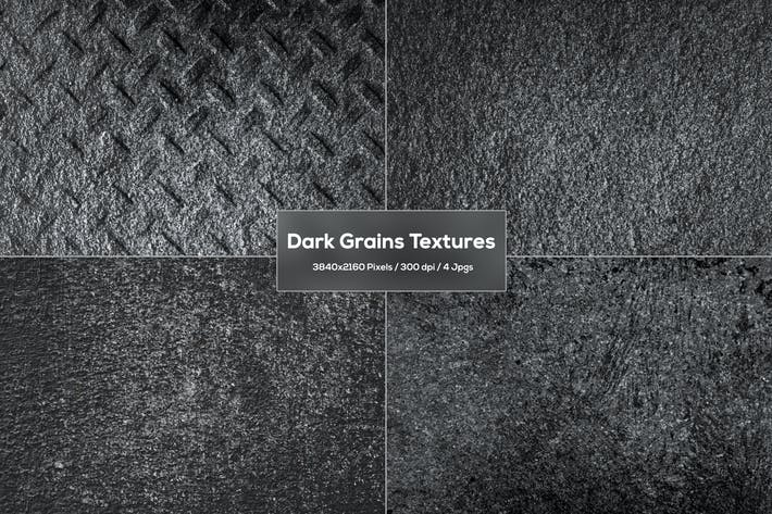 Dark Grains Textures