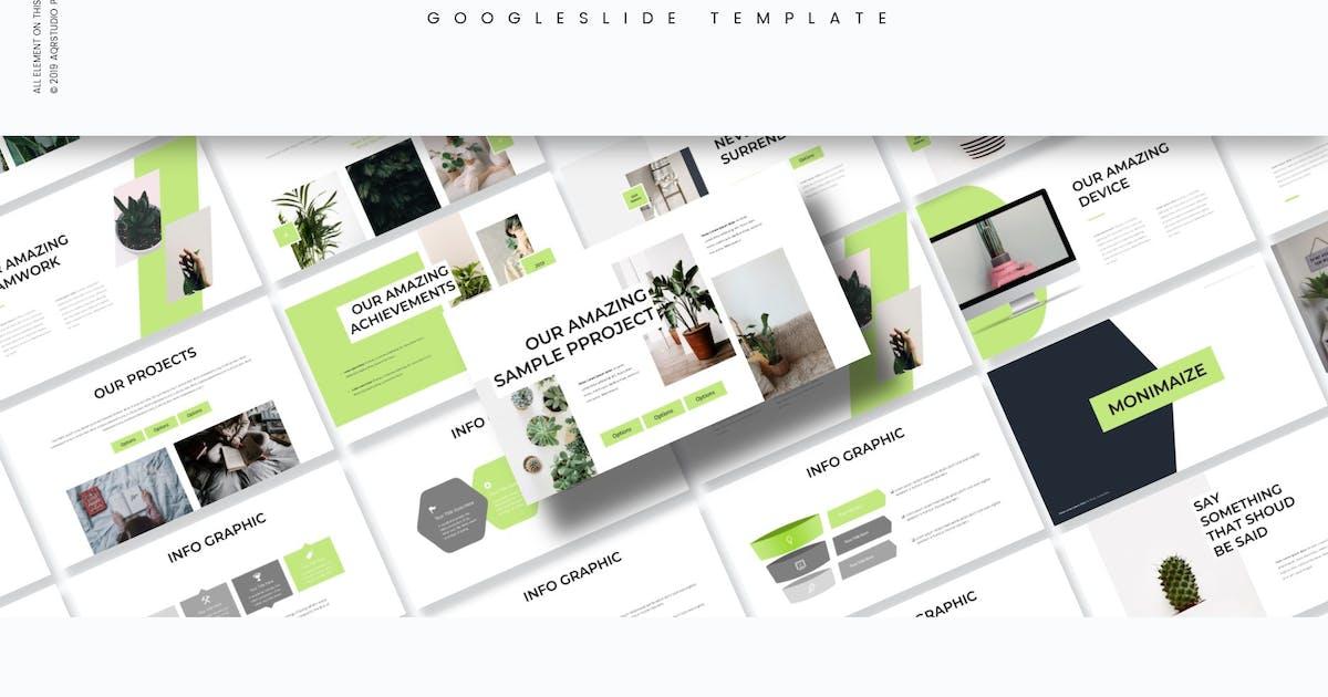 Download Monimaize - Google Slides Template by aqrstudio