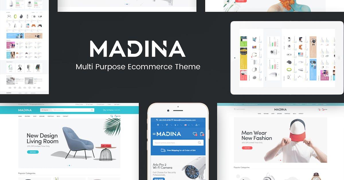 Download Madina - Responsive OpenCart Theme by posthemes