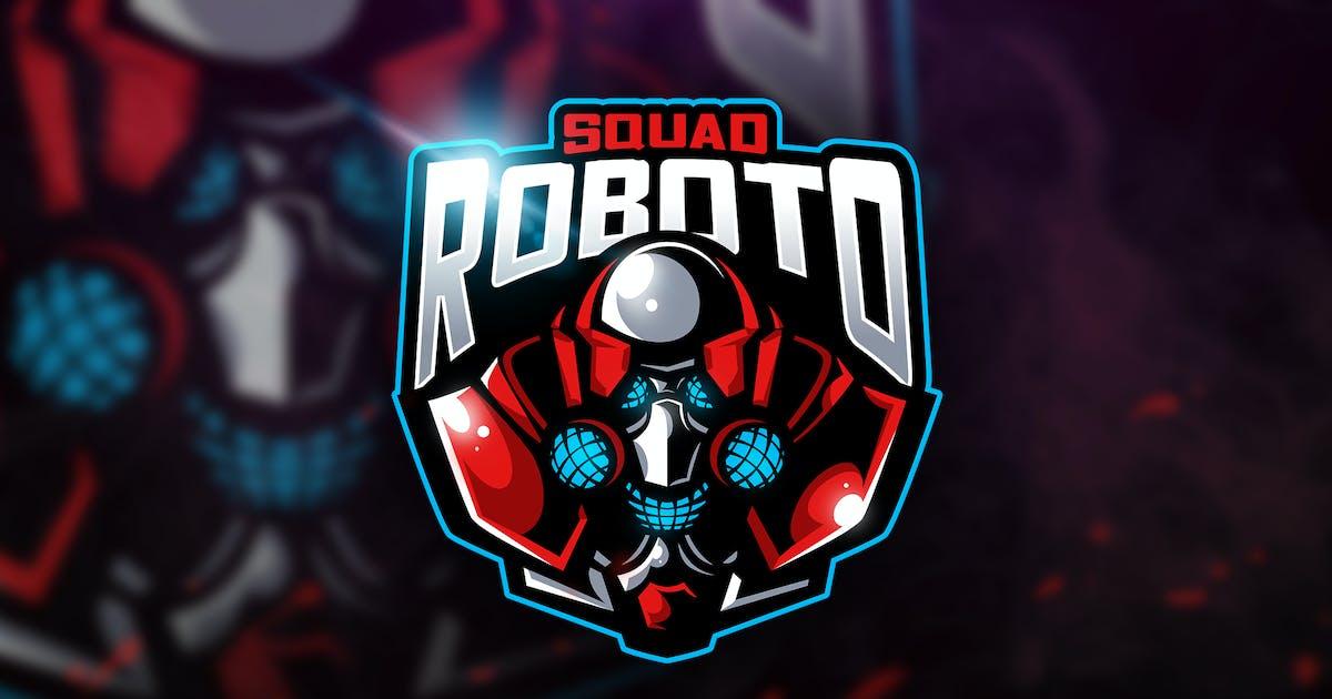 Roboto Squad - Mascot & Esport Logo by aqrstudio