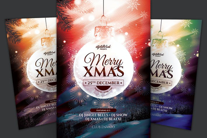 Cover Image For Merry Xmas Flyer