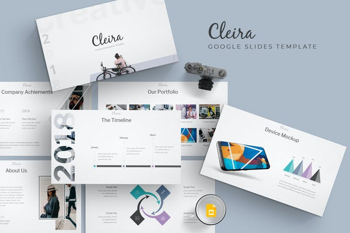 Thumbnail for Cleira - Google Slide Templates
